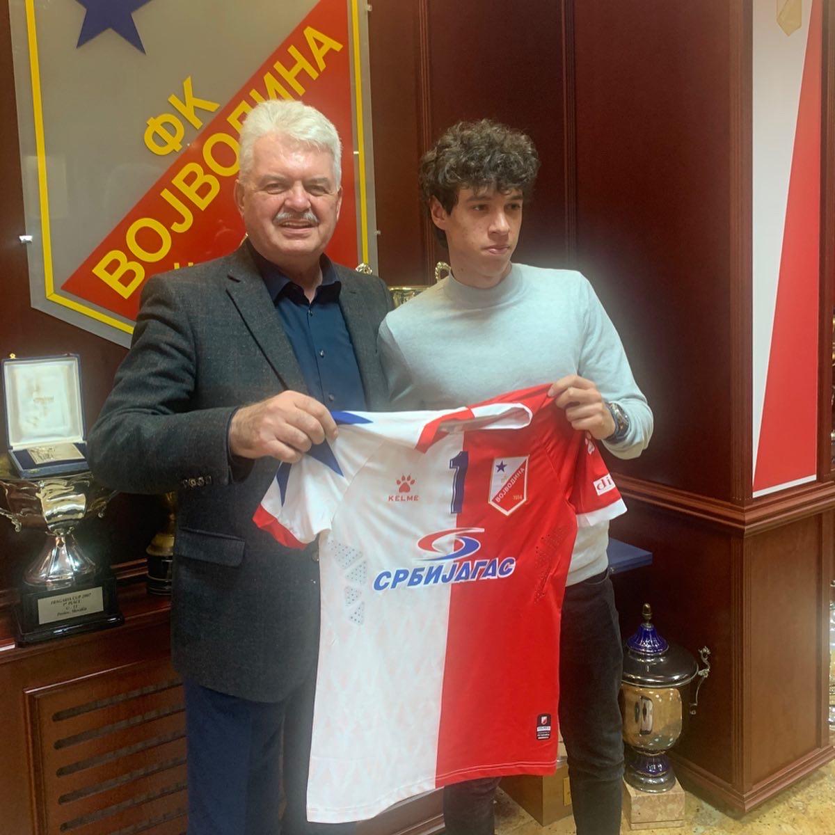 Petar Pavlicevic new player of Vojvodina Novi Sad