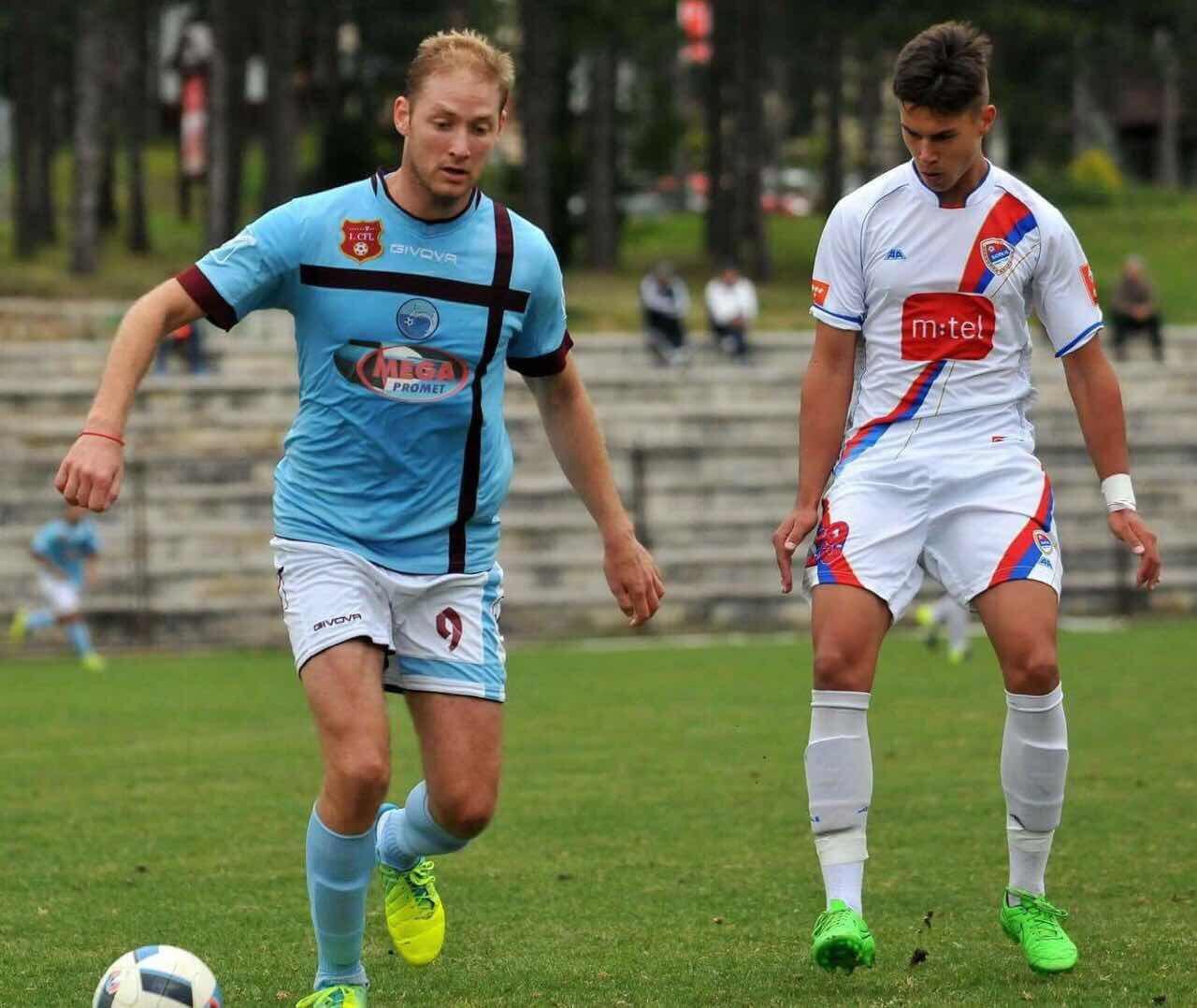Vujacic with Petrovac FC