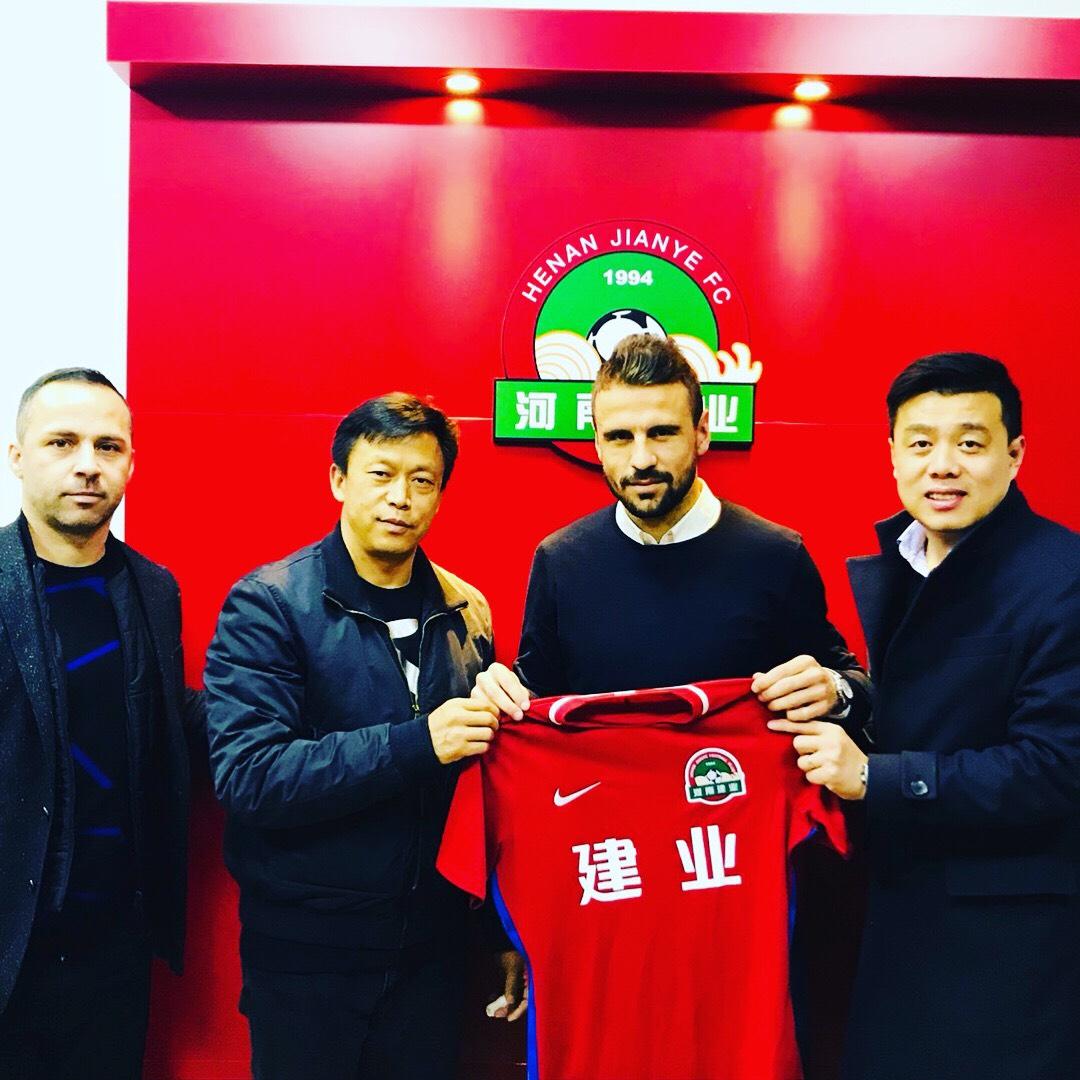 Standard Liege's Orlando Sa joins CSL side Henan Jianye