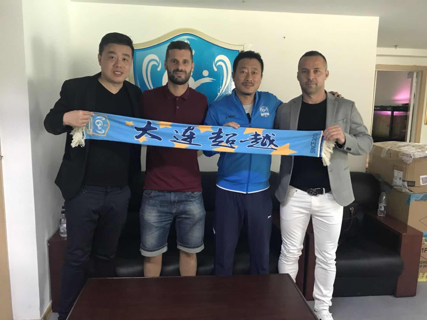 Admir Adrovic signed in China League One
