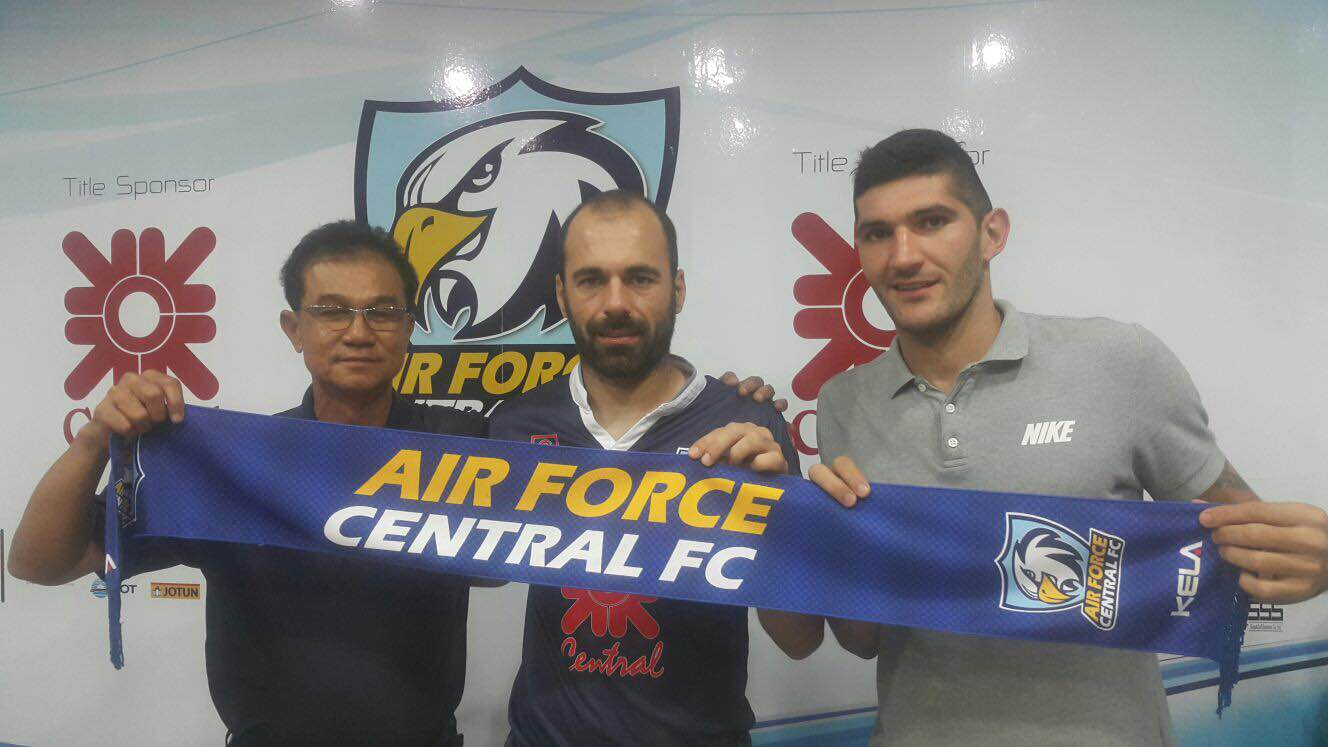 Petar Vukcevic new player of  Air Force Central