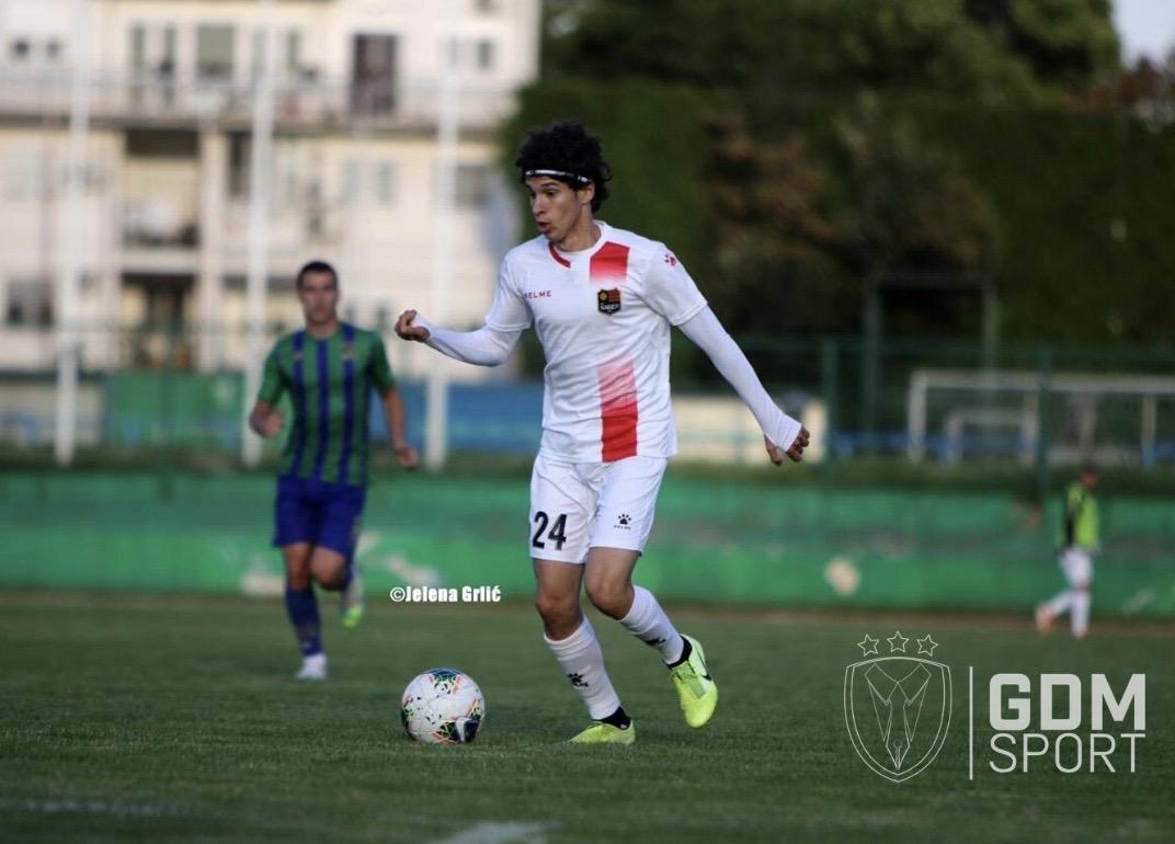 Petar Pavlicevic debut on senior level