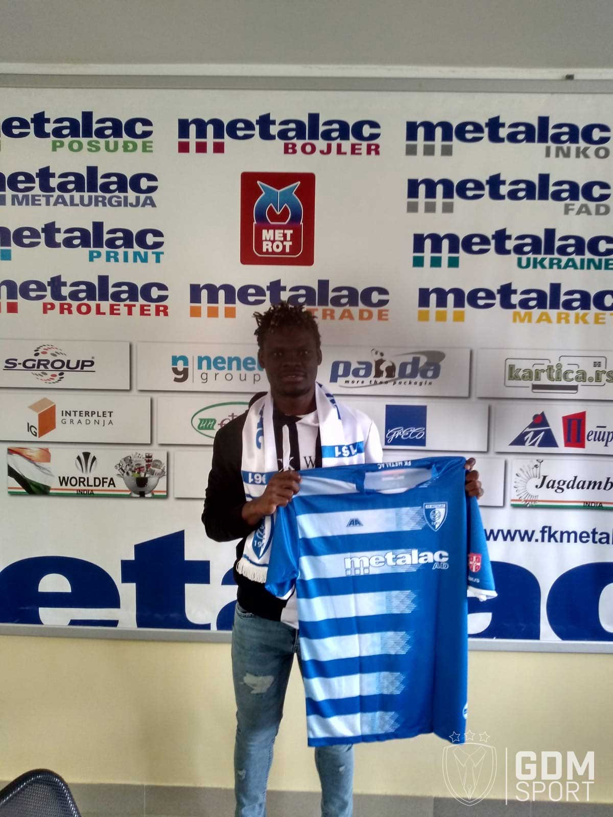 Vieljeux Prestige Mboungou extended 3 year deal with Metalac FC