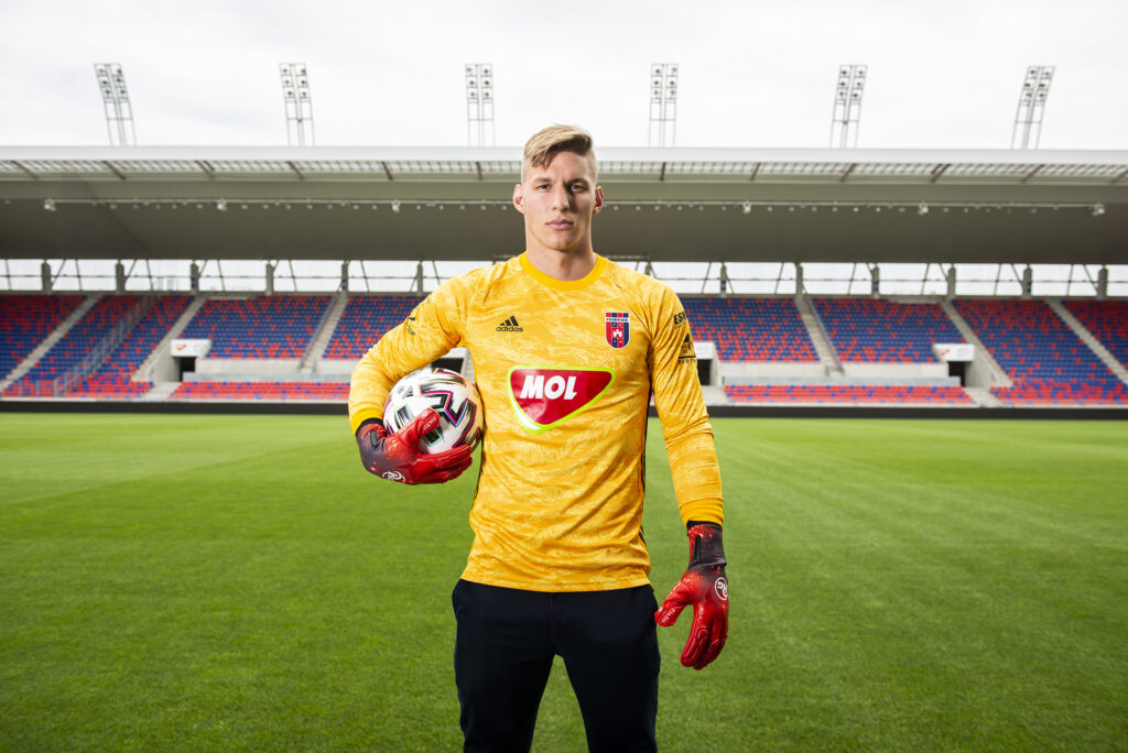 Emil with his new kit