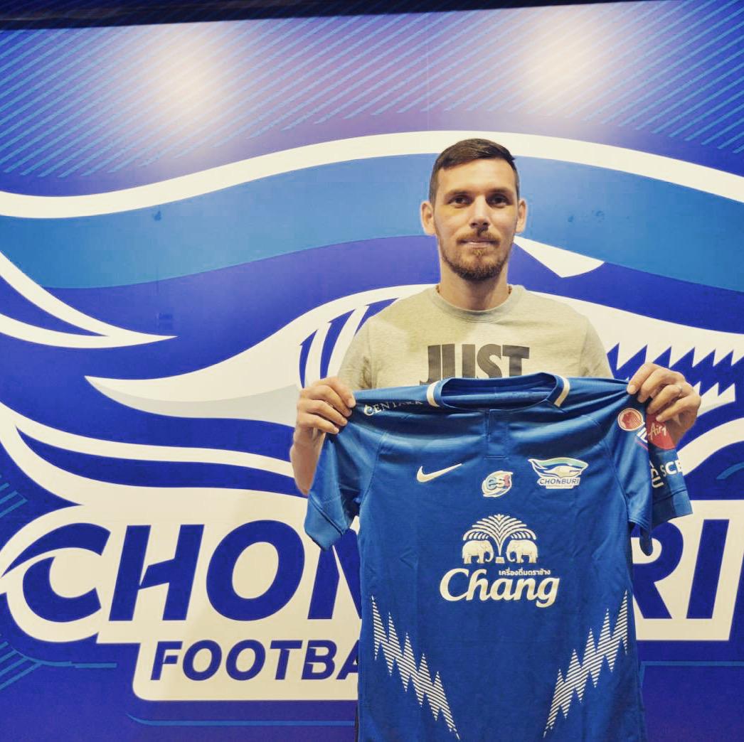 Renato Kelic new journey with Chonburi FC