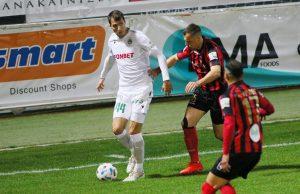 Scepovic with Omonia FC