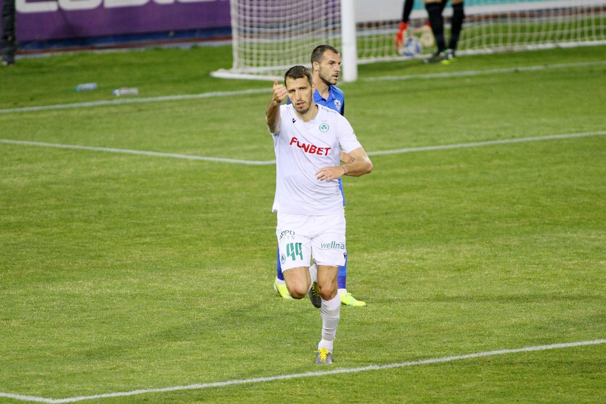 Scepovic and Omonia crowned champions for first time in ten years