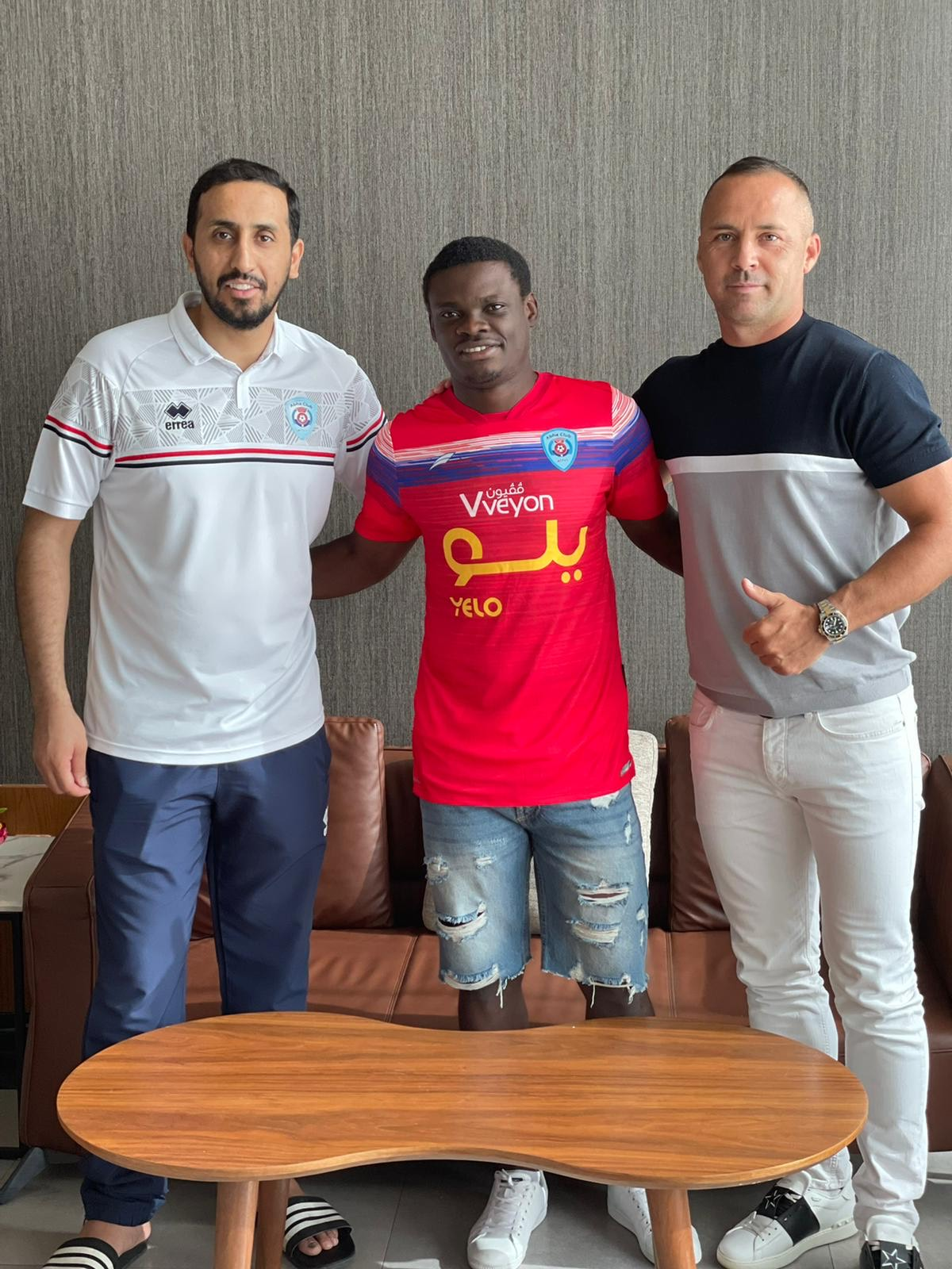 Read more about the article Prestige Mboungou signed with Saudi Pro League club ABHA FC